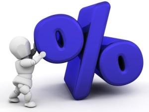 Zinsen beim Kredit
